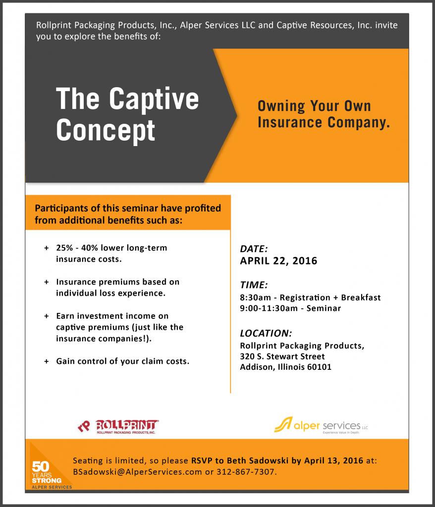 The Captive Concept Seminar