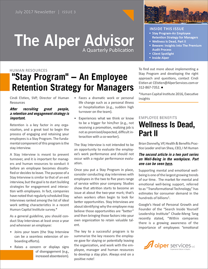 The Alper Advisor July 2017