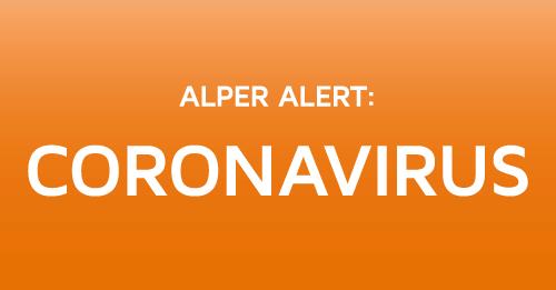 Alper Alert: Coronavirus
