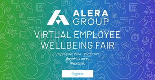 Alera Virtual Wellbeing Fair - 9/22 and 9/23