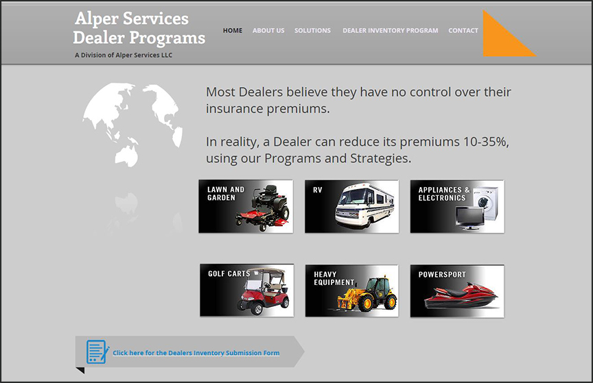 Alper Dealer Programs Homepage