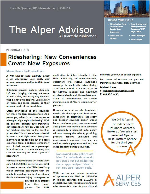 The Alper Advisor - Q4 2018