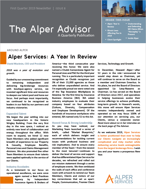 The Alper Advisor